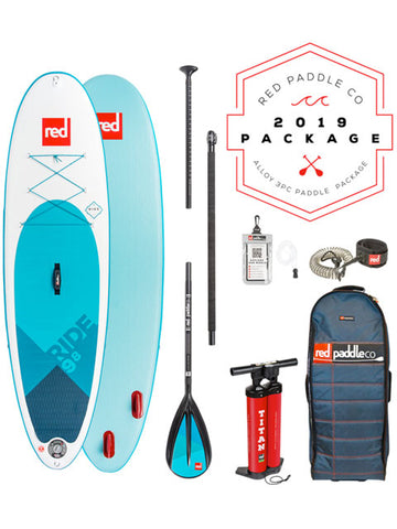 "Red Paddle Co. Ride MSL 9'8"" Stand Up Paddleboard Package - 2019 - Boardwise"