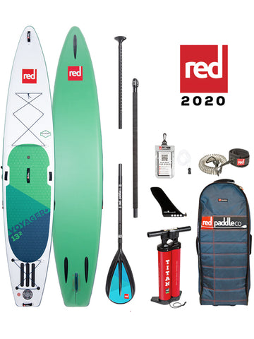 "Red Paddle Co. Voyager 13'2"" Stand Up Paddleboard Package - 2020 - Boardwise"