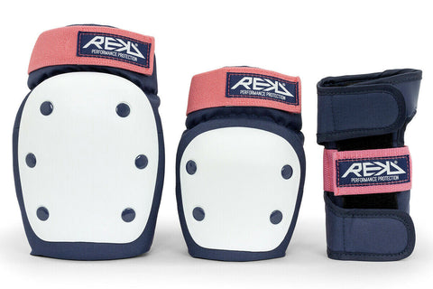 REKD HEAVY DUTY TRIPLE SKATEBOARD PAD SET