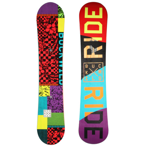 RIDE LIL BUCK KIDS SNOWBOARD - 2015