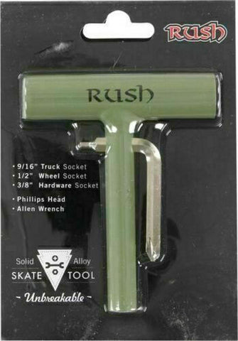 RUSH SOLID ALLOY SKATEBOARD TOOL