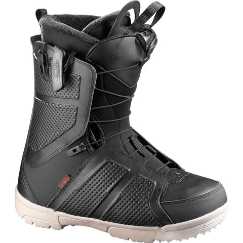SALOMON FACTION SNOWBOARD BOOTS - BLACK - 2018 - Boardwise