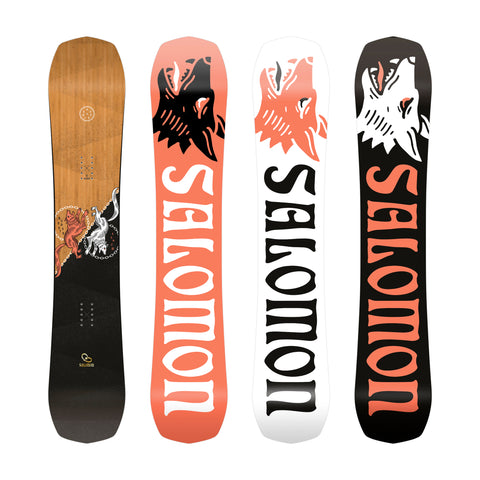 SALOMON ASSASSIN SNOWBOARD - 2021