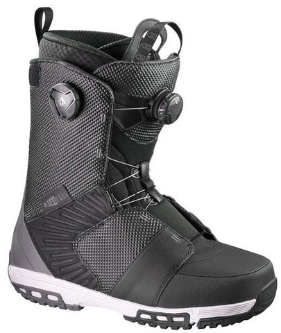 SALOMON DIALOGUE FOCUS BOA SNOWBOARD BOOTS BLACK - 2017 - Boardwise