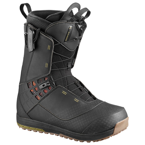 SALOMON DIALOGUE SNOWBOARD BOOTS - BLACK - 2019 - Boardwise