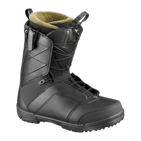 SALOMON FACTION SNOWBOARD BOOTS - BLACK - 2020 - Boardwise