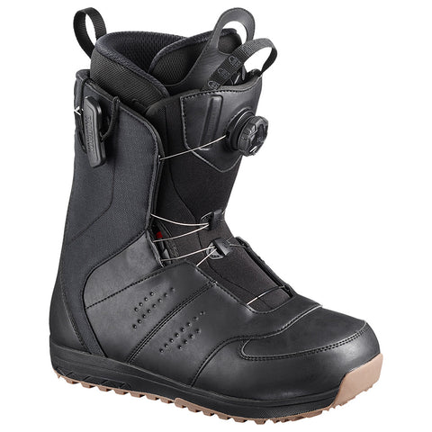 SALOMON LAUNCH BOA SJ SNOWBOARD BOOTS - BLACK - 2019
