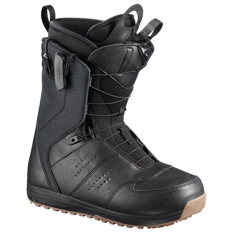 SALOMON LAUNCH SNOWBOARD BOOTS - BLACK - 2019