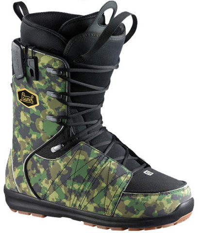SALOMON LAUNCH FAT LACE SNOWBOARD BOOTS - 2015 - Boardwise
