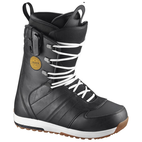 SALOMON LAUNCH LACE SNOWBOARD BOOTS - NAVY - 2018 - Boardwise