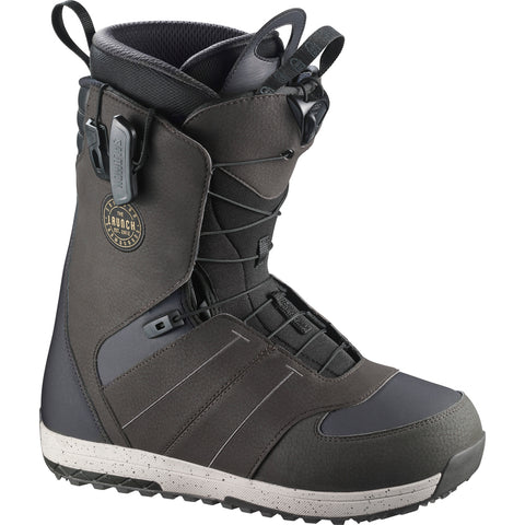 SALOMON LAUNCH SNOWBOARD BOOTS - GREY - 2018 - Boardwise