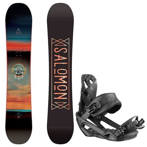 SALOMON PULSE WIDE SNOWBOARD PACKAGE - 2019