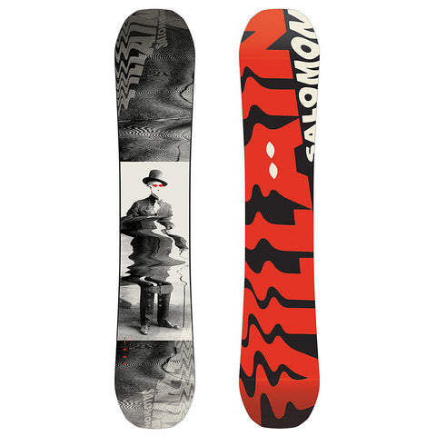 SALOMON THE VILLAIN SNOWBOARD - 2019 - Boardwise