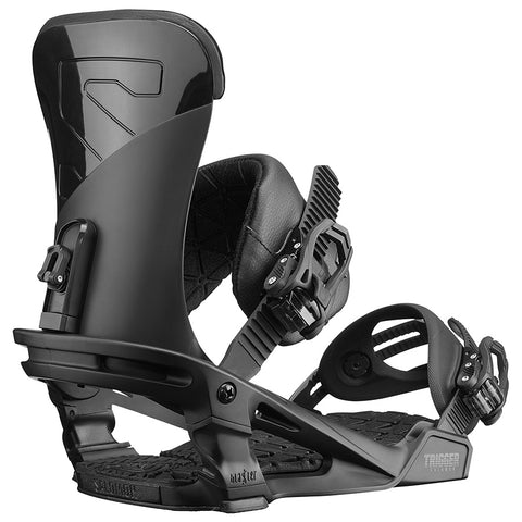 SALOMON TRIGGER SNOWBOARD BINDINGS - BLACK - 2019