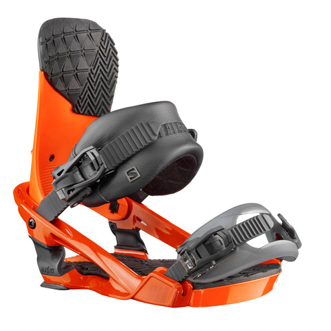 SALOMON TRIGGER SNOWBOARD BINDINGS - ORANGE - 2018
