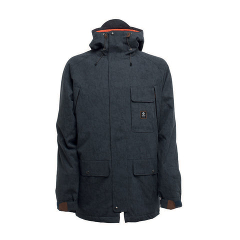 SESSIONS SUPPLY SNOWBOARD JACKET - INDIGO - 2018