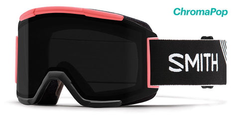 SMITH SQUAD SNOWBOARD GOGGLE - STRIKE SUN BLACK - 2019 - Boardwise