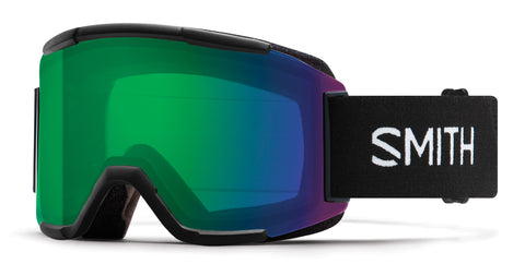 SMITH SQUAD SNOWBOARD GOGGLE - BLACK EVERYDAY GREEN - 2020 - Boardwise
