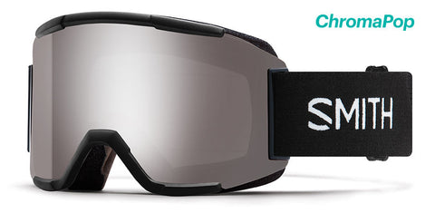SMITH SQUAD SNOWBOARD GOGGLE - BLACK SUN PLATINUM MIRROR - 2019 - Boardwise