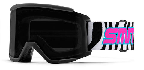 SMITH SQUAD XL SNOWBOARD GOGGLE - GET WILD 89 SUN BLACK - 2020 - Boardwise