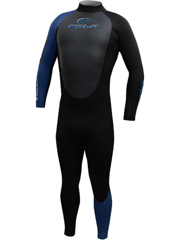 Sola Blaze 5/4MM Mens Winter Wetsuit Black Blue