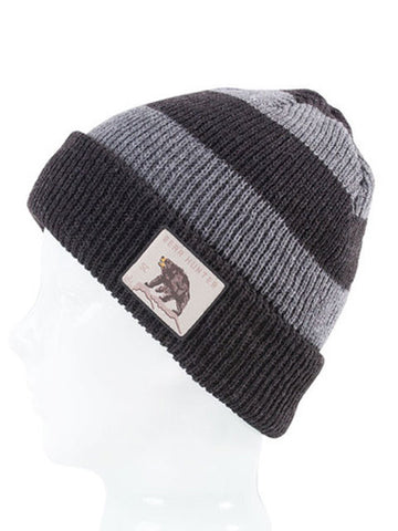 SPACECRAFT TRAPPER BEANIE - GRAY - Boardwise