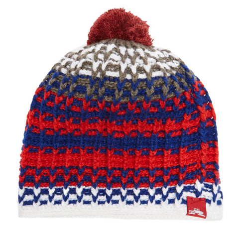 SPACECRAFT ZEPPELIN POM BEANIE - WHITE