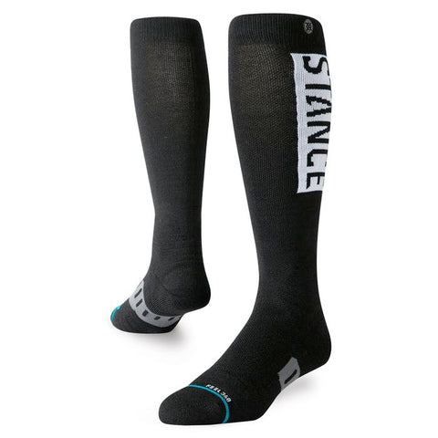 STANCE OG WOOL SNOWBOARD SOCKS - BLACK - 2020 - Boardwise