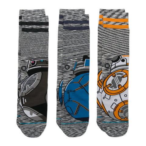 STANCE STAR WARS DROID 3-PACK SOCKS - 2018