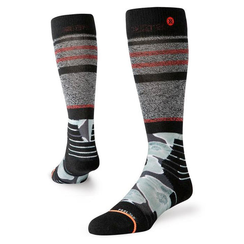 STANCE WOMENS HIGH HEAT THERMO SNOWBOARD SOCKS - BLACK - 2020
