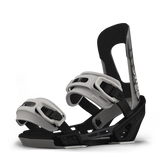 SWITCHBACK SESSION SNOWBOARD BINDINGS - BLACK GREY - 2019
