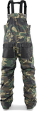 THIRTY-TWO BASEMENT BIB SNOWBOARD PANT - CAMO  - 2020 - Boardwise