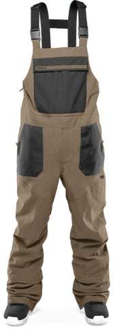 THIRTY-TWO BASEMENT BIB SNOWBOARD PANT - FATIGUE  - 2021
