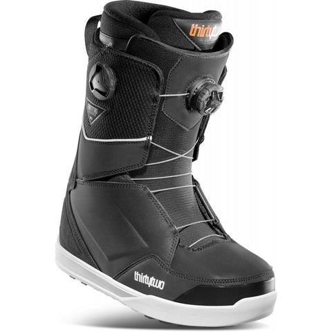 THIRTY TWO LASHED DOUBLE BOA SNOWBOARD BOOTS - BLACK - 2021