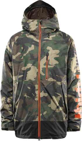 THIRTY-TWO METHOD SNOWBOARD JACKET - CAMO  - 2020 FRONT