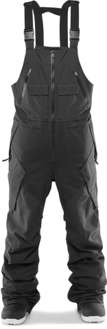 THIRTY-TWO MULLAIR BIB SNOWBOARD PANT - BLACK  - 2020 FRONT