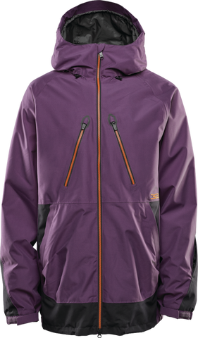 THIRTY-TWO TM SNOWBOARD JACKET - DEEP PURPLE  - 2020 FRONT