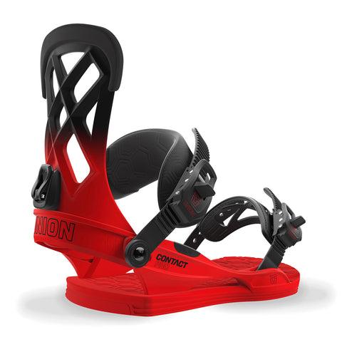 UNION CONTACT PRO SNOWBOARD BINDINGS - VOLT RED - 2018
