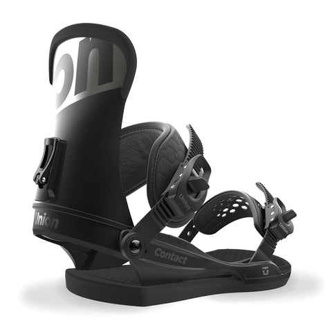 UNION CONTACT SNOWBOARD BINDINGS -BLACK - 2018