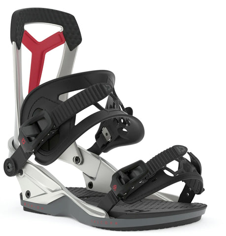 UNION FALCOR SNOWBOARD BINDINGS - SILVER PLASMA - 2020