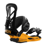 UNION FLIGHT PRO SNOWBOARD BINDINGS - BLACK YELLOW - 2019