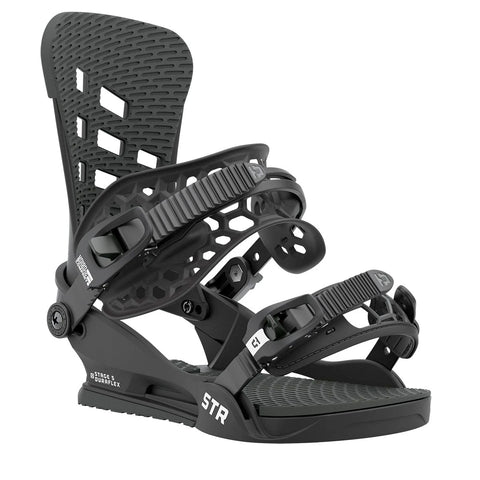 UNION STR SNOWBOARD BINDINGS - BLACK - 2021
