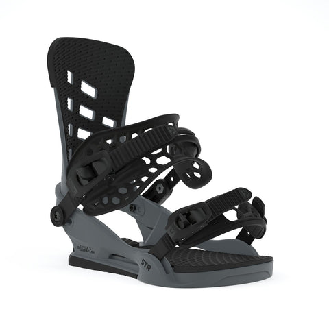 UNION STR SNOWBOARD BINDINGS - DARK GREY - 2020 - Boardwise