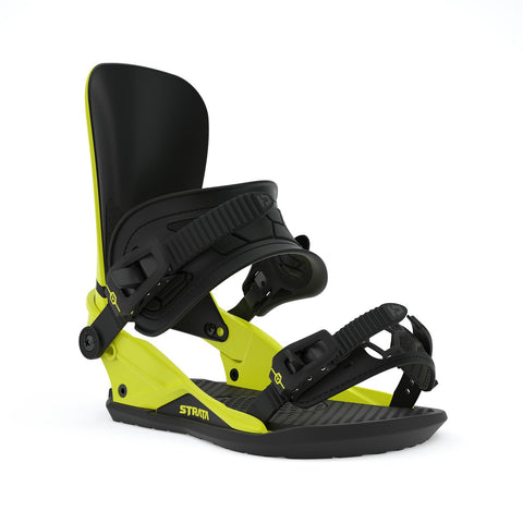 UNION STRATA SNOWBOARD BINDINGS - HAZZARD YELLOW - 2020 - Boardwise
