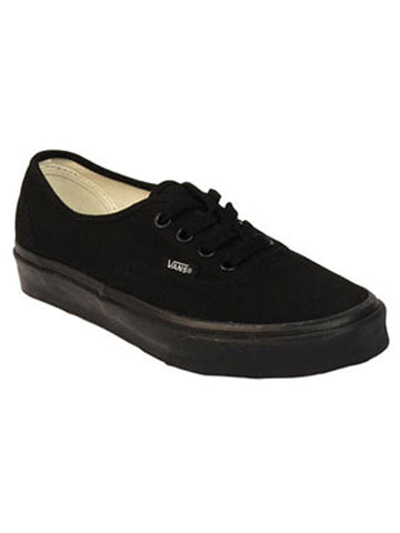 VANS AUTHENTIC SHOES - BLACK - Boardwise