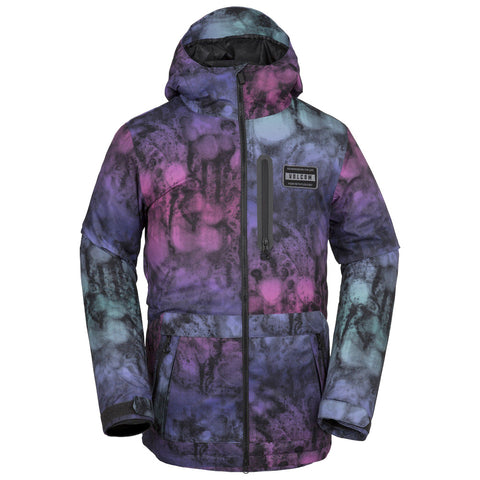 VOLCOM ANALYZER INS SNOWBOARD JACKET - MIX - 2019