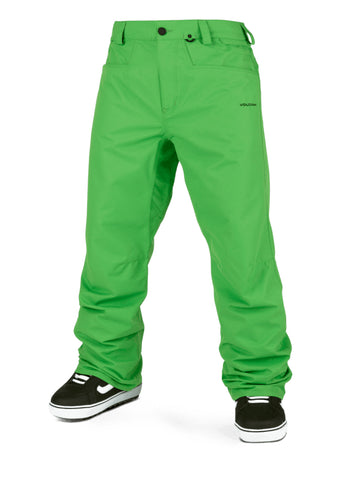 VOLCOM CARBON SNOWBOARD PANT - GREEN - 2021