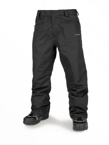 VOLCOM CARBON SNOWBOARD PANT - BLACK - 2020 - Boardwise