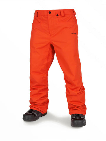 VOLCOM CARBON SNOWBOARD PANT - ORANGE - 2020 - Boardwise