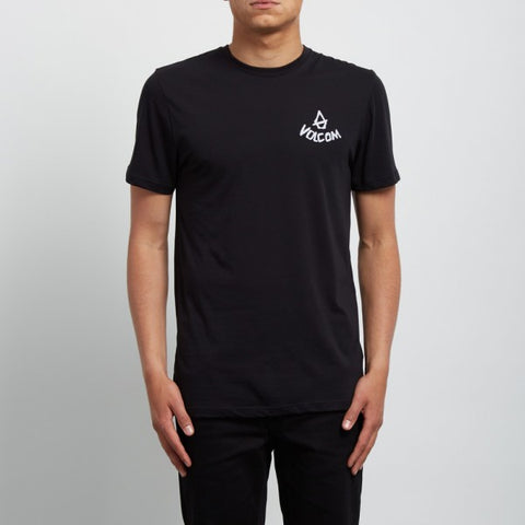 VOLCOM CHILL DD T-SHIRT - BLACK - 2018